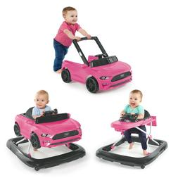Bright Starts 3 Ways to Play Ford Mustang Baby Walker with A