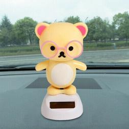 - Amiley Welcome Cartoon Doll Solar Powered Dancing Swingin