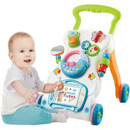Baby Walker Activity Toy Toddler Stroller Sit-to-Stand Devel