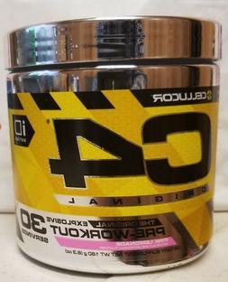 Cellucor C4 Original Explosive Pre-Workout 30 Srv Pink Lemon
