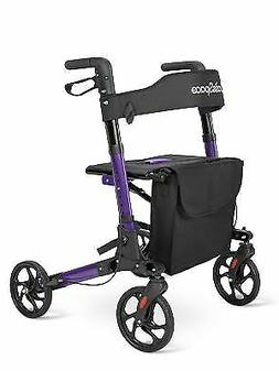 OasisSpace Euro Style Medical Seat & Back Foldable Rollator