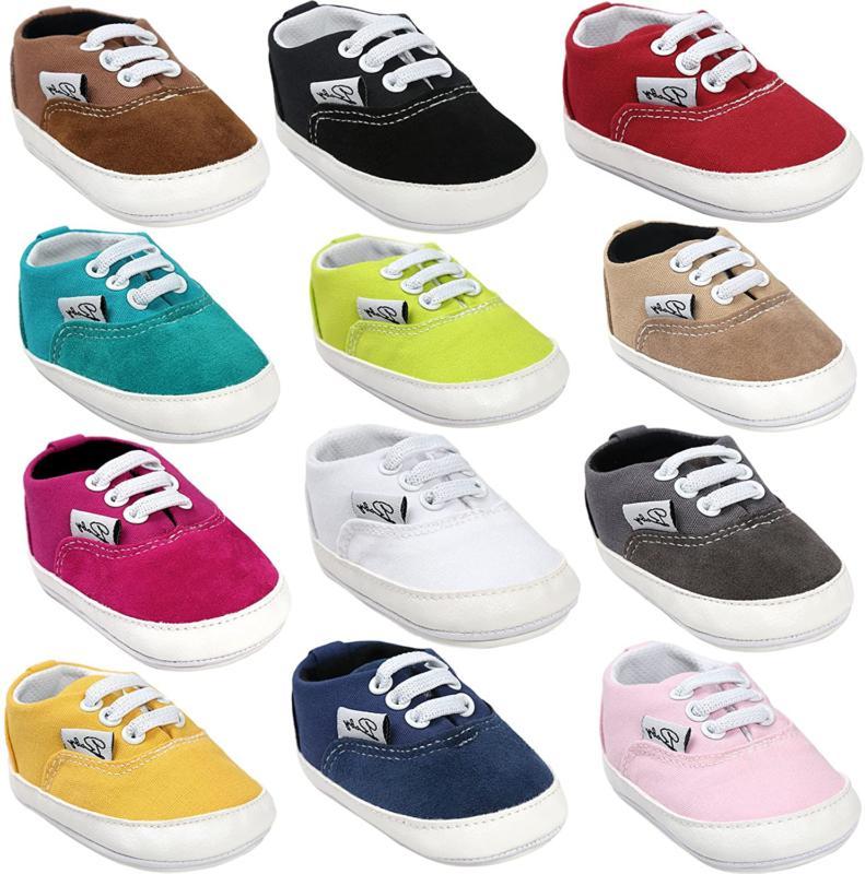 BENHERO Baby Boys Girls Canvas Toddler Sneaker Anti-Slip Fir
