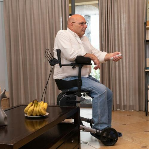 2020 ELENKER Rollator Medical Aid Seat 4 Wheel HOT