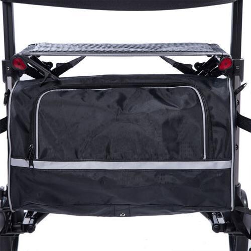 2020 Upright Rollator Medical Seat Wheel HOT