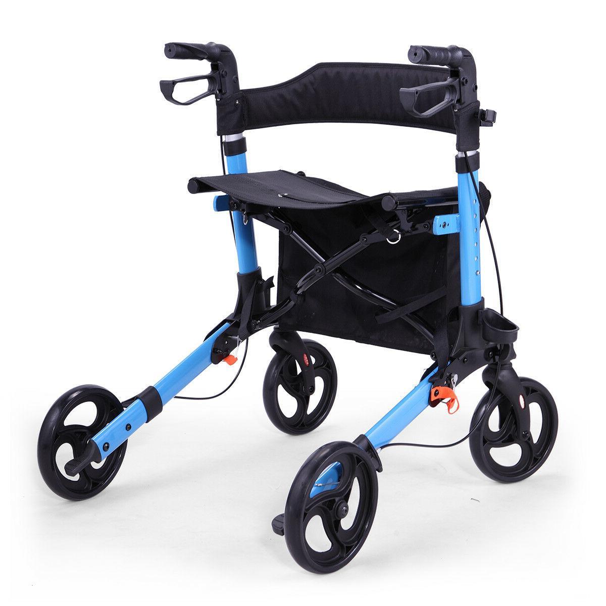 Heavy Bariatric Rollator Wheel Brake