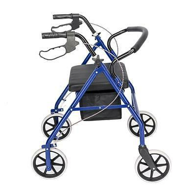 US Folding 450lb With Wide Seat Blue