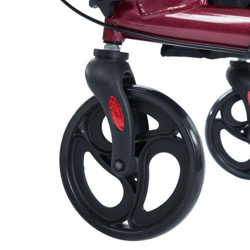 2020 ELENKER Rollator Aid Seat & Back Wheel