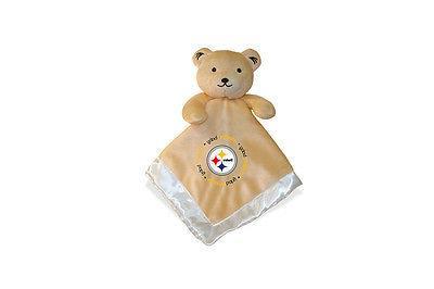 Pittsburgh Steelers 14x14 Security Bear Blanket Baby Fanatic