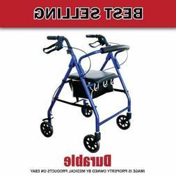 Lightweight Aluminum!! Cardinal₆Rollator Foldable Walk