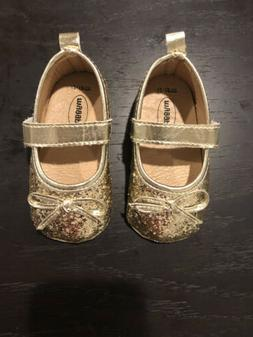 Mary Jane Flats with Non-Slip Baby/Toddler First Walkers - G